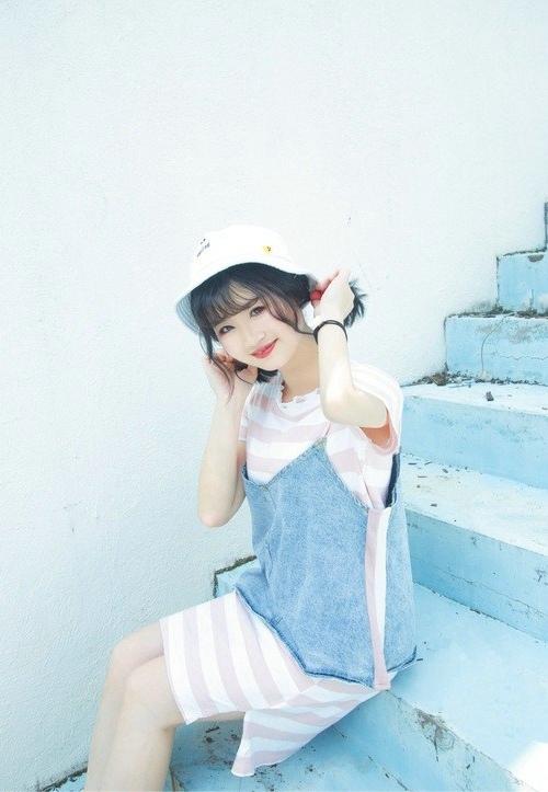 JUL-430小清新可爱美女养眼白丝美腿清纯写真图片