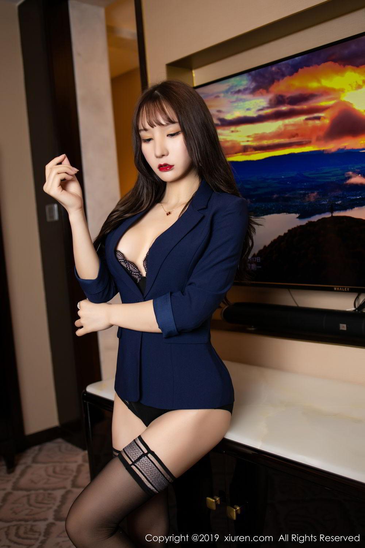 HHED-58白衬衫丝袜美女风情万种辣图