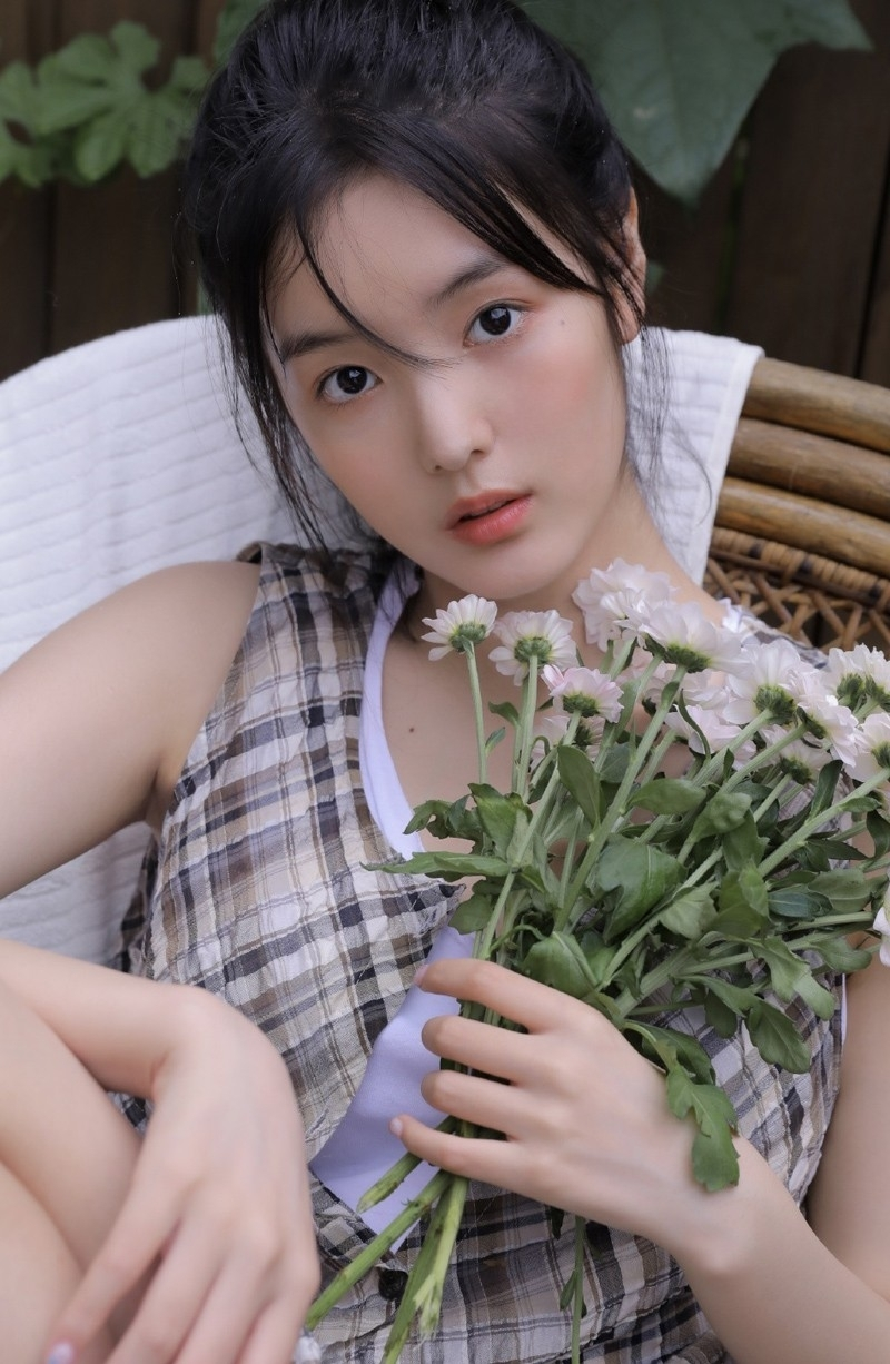 KIR-013极品学生妹jk制服笑靥如花女生照片