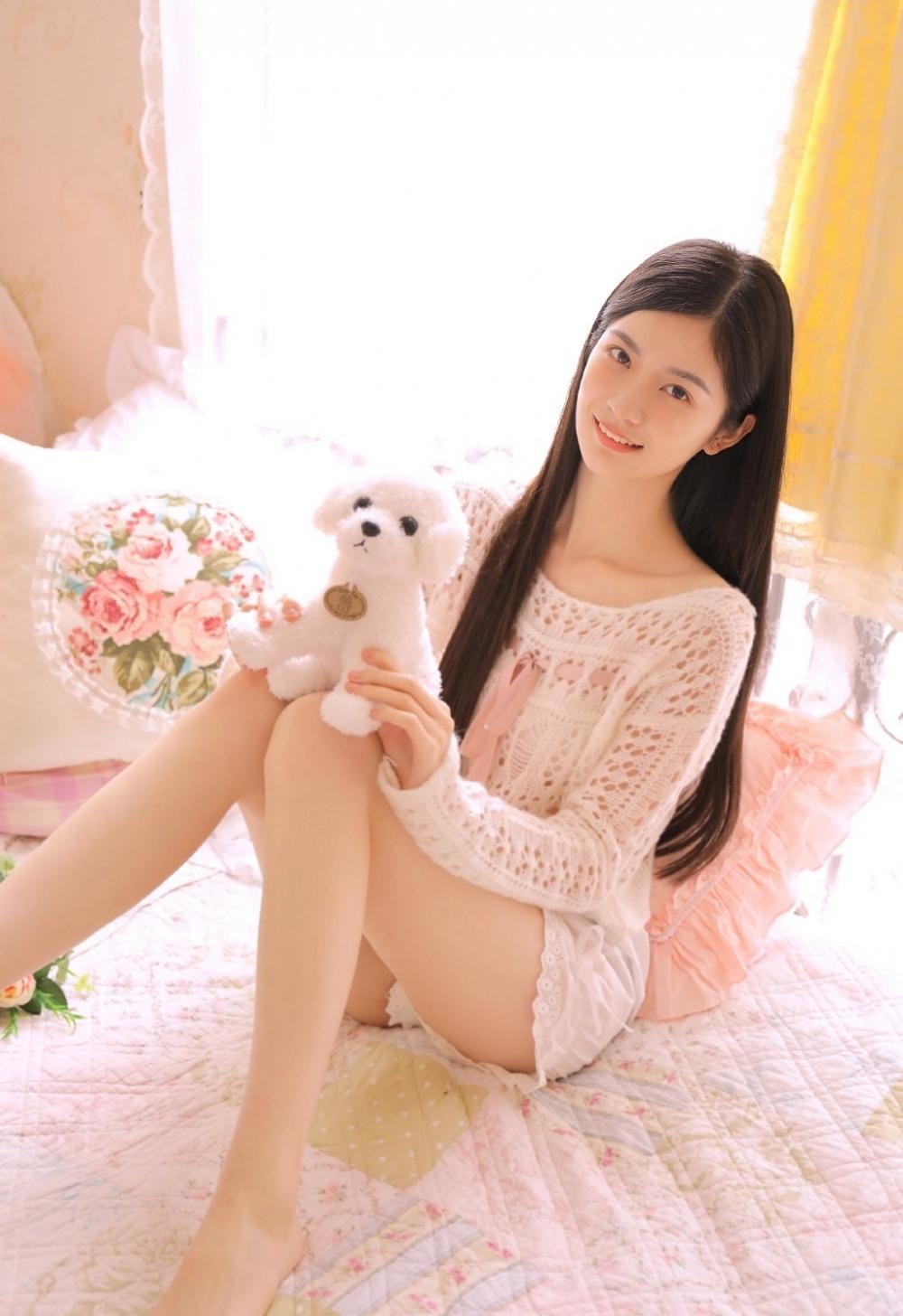 JUY-818黑色袜高跟长腿Beautyleg美女