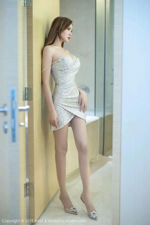 2SBB-200细美腿丝袜刘海迷你短裙白衬衫美女