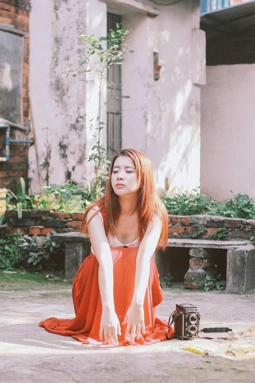5JUC-786蕾丝美女冷艳名媛公主气质长裙诱惑性感火辣写真图片