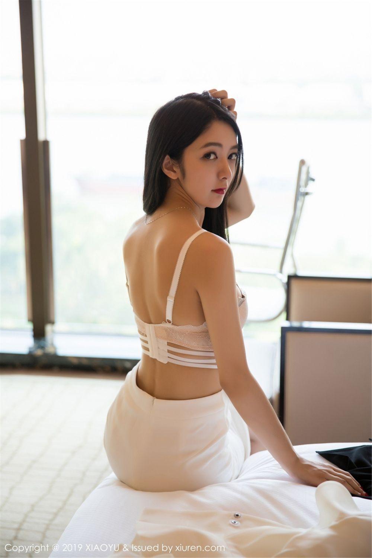 4MDY-945黑长直美女日式校园情趣连体泳衣性感写真