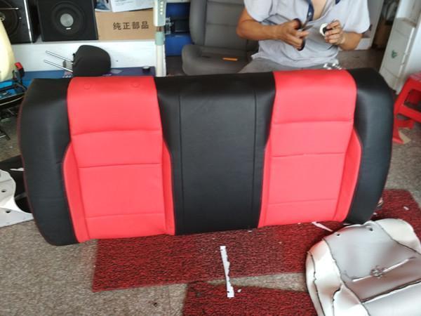 汽車座椅破損後和皮革內飾磨損的修複方法