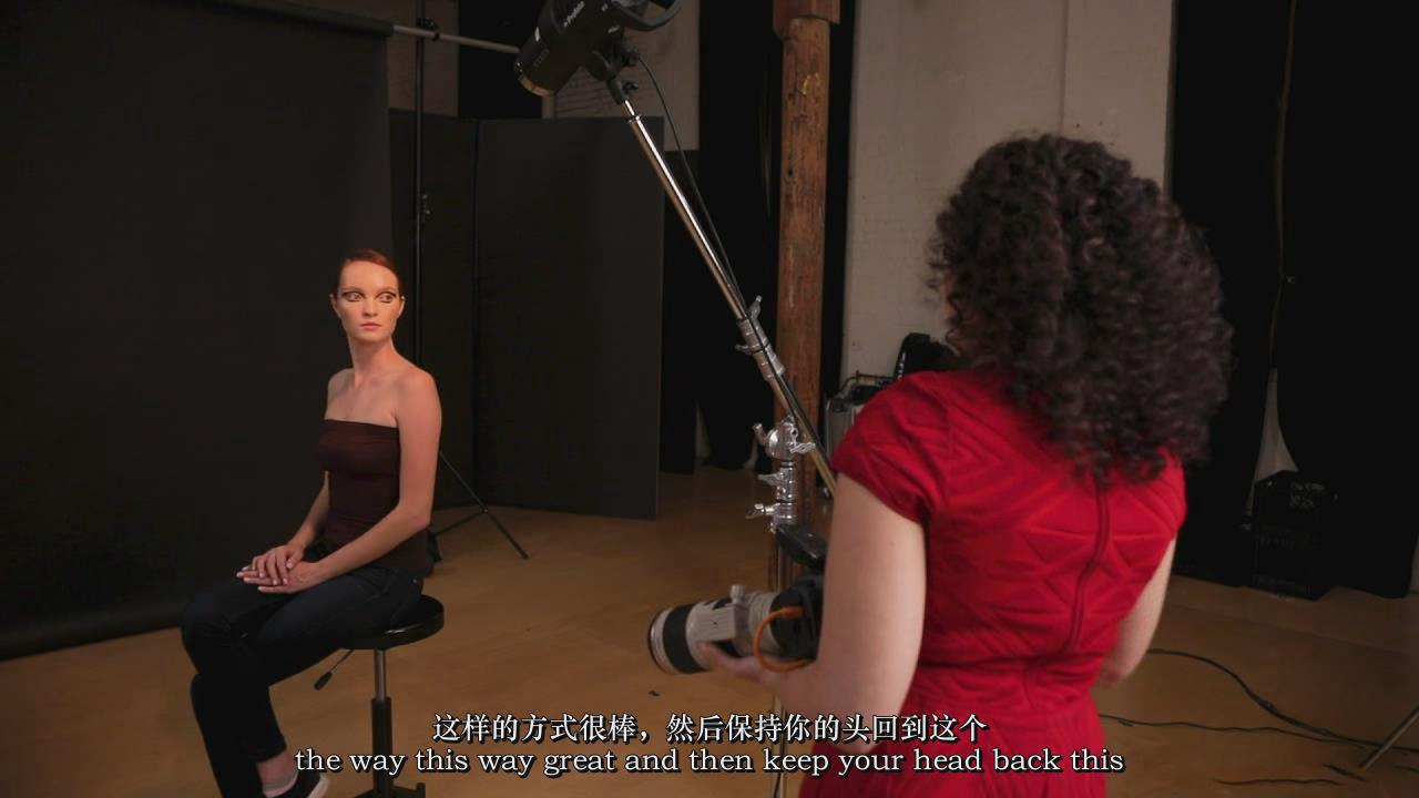 摄影教程_Lindsay Adler-工作室高端时尚妆容美容摄影布光教程-中英字幕 摄影教程 _预览图11