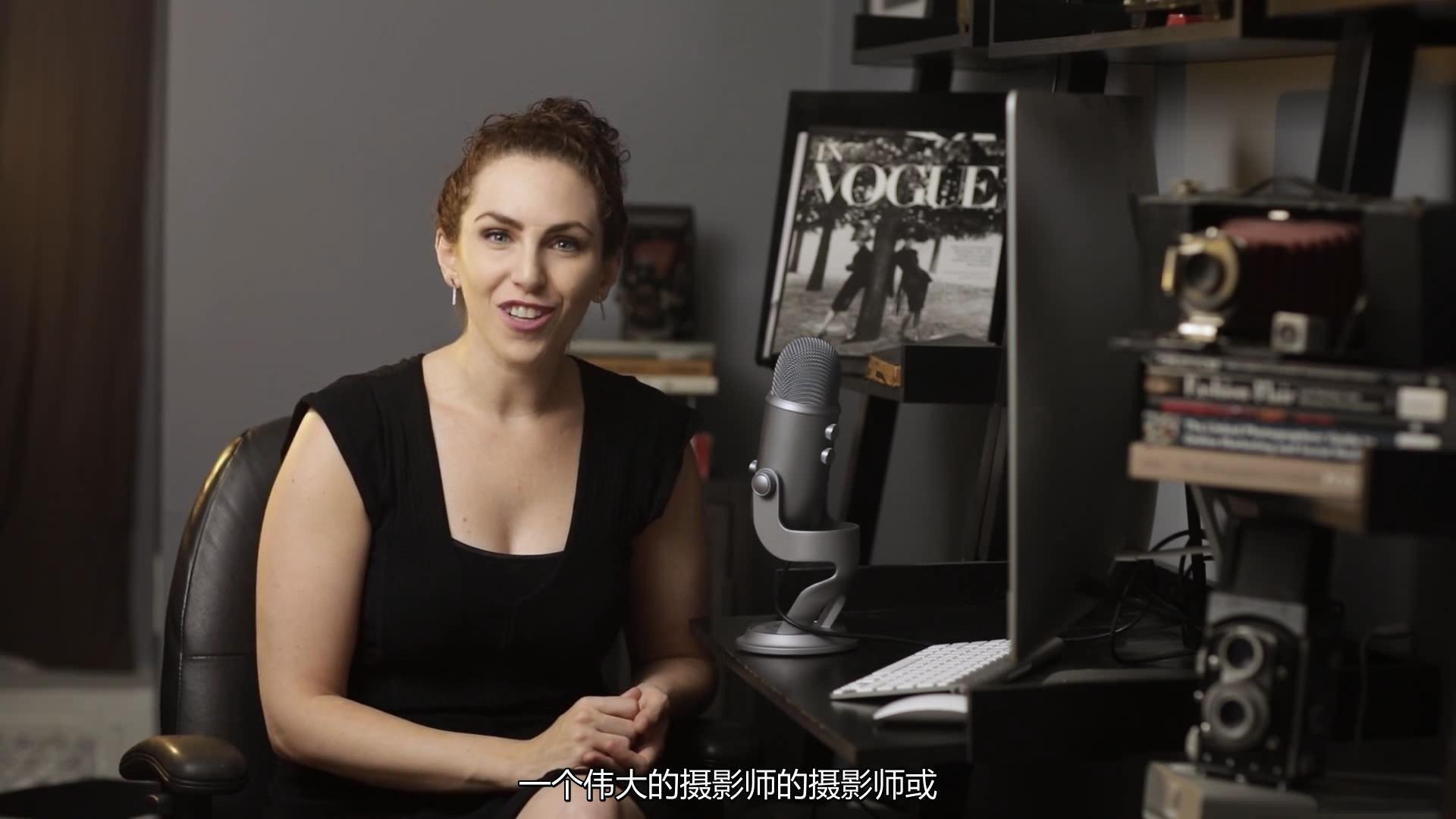 摄影教程_Lindsay Adler为期10周的工作室棚拍布光大师班教程-中文字幕 摄影教程 _预览图5