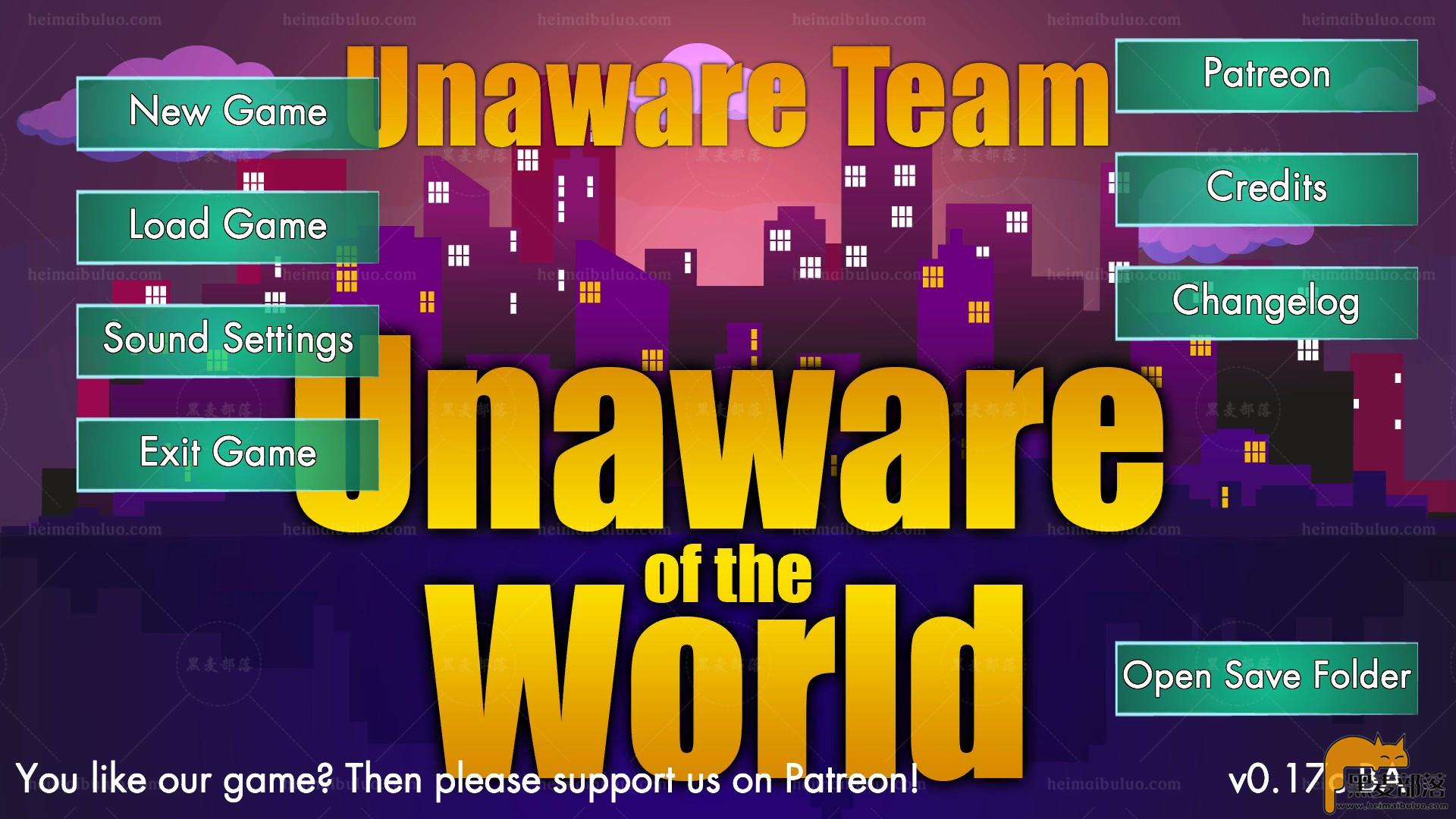 【欧美/动态】未知的世界 - Unaware of the World v0.17C