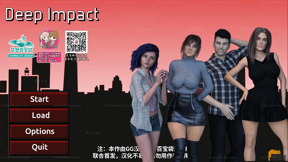 【欧美SLG/汉化/动态】深度影响 Deep Impact V1.0完结精翻汉化版【PC+安卓/2G】
