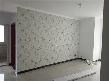 三个月硬装完工,还没家具就很漂亮,全屋贴满壁纸太抢眼了,晒晒