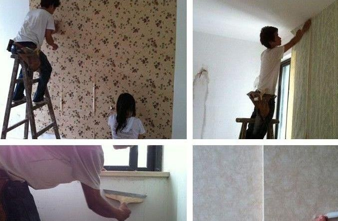 还在家里贴墙纸?现在都流行贴高端大气的墙布