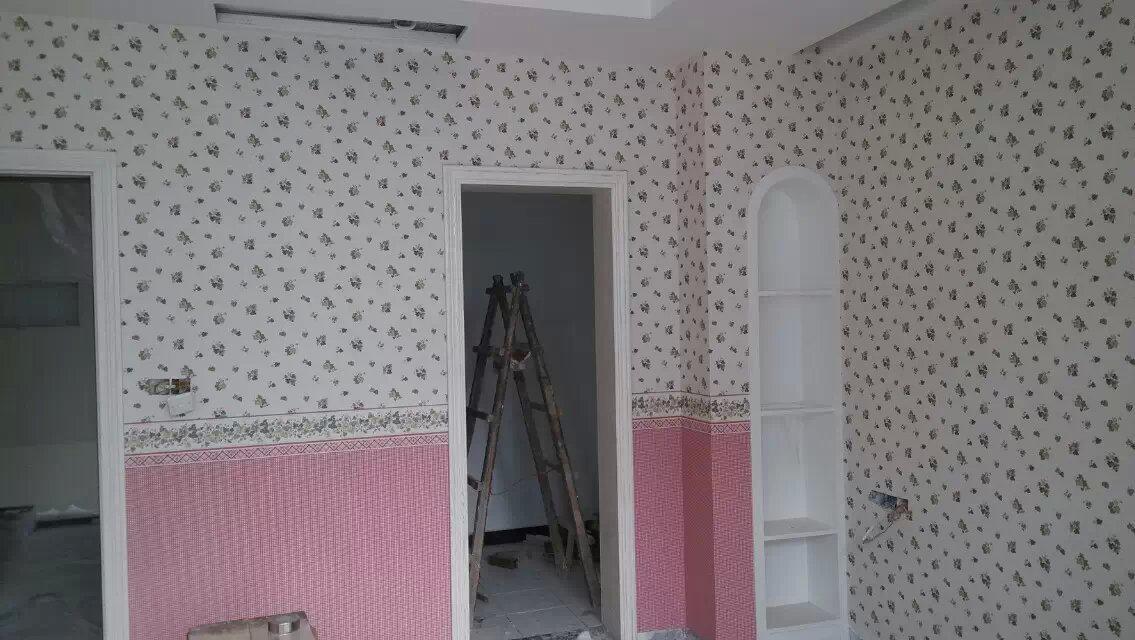 改造后的精装房,全屋贴壁纸,堪比样板房漂亮,分享一下!