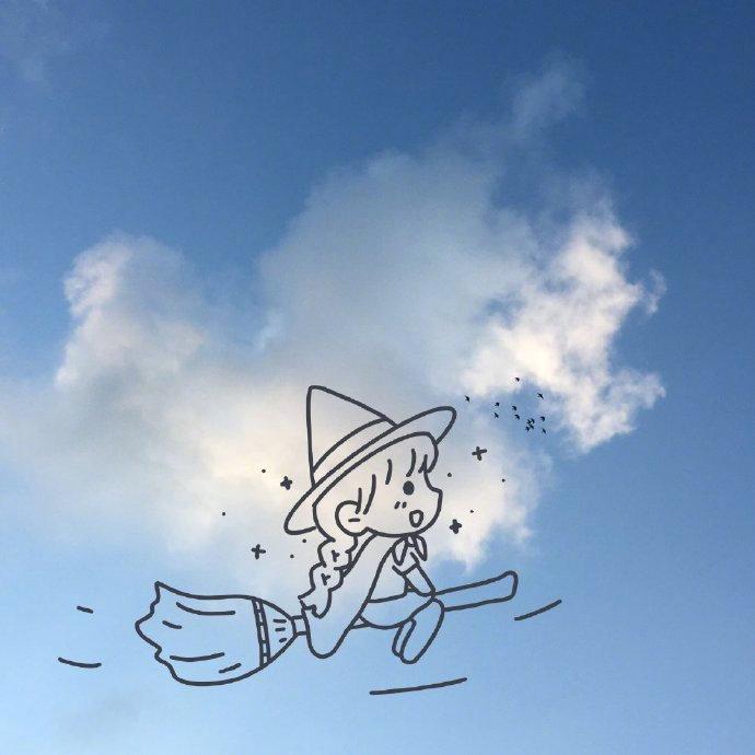 今天的云和你一样可爱! 第8张