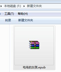 快速打开epub格式电子书