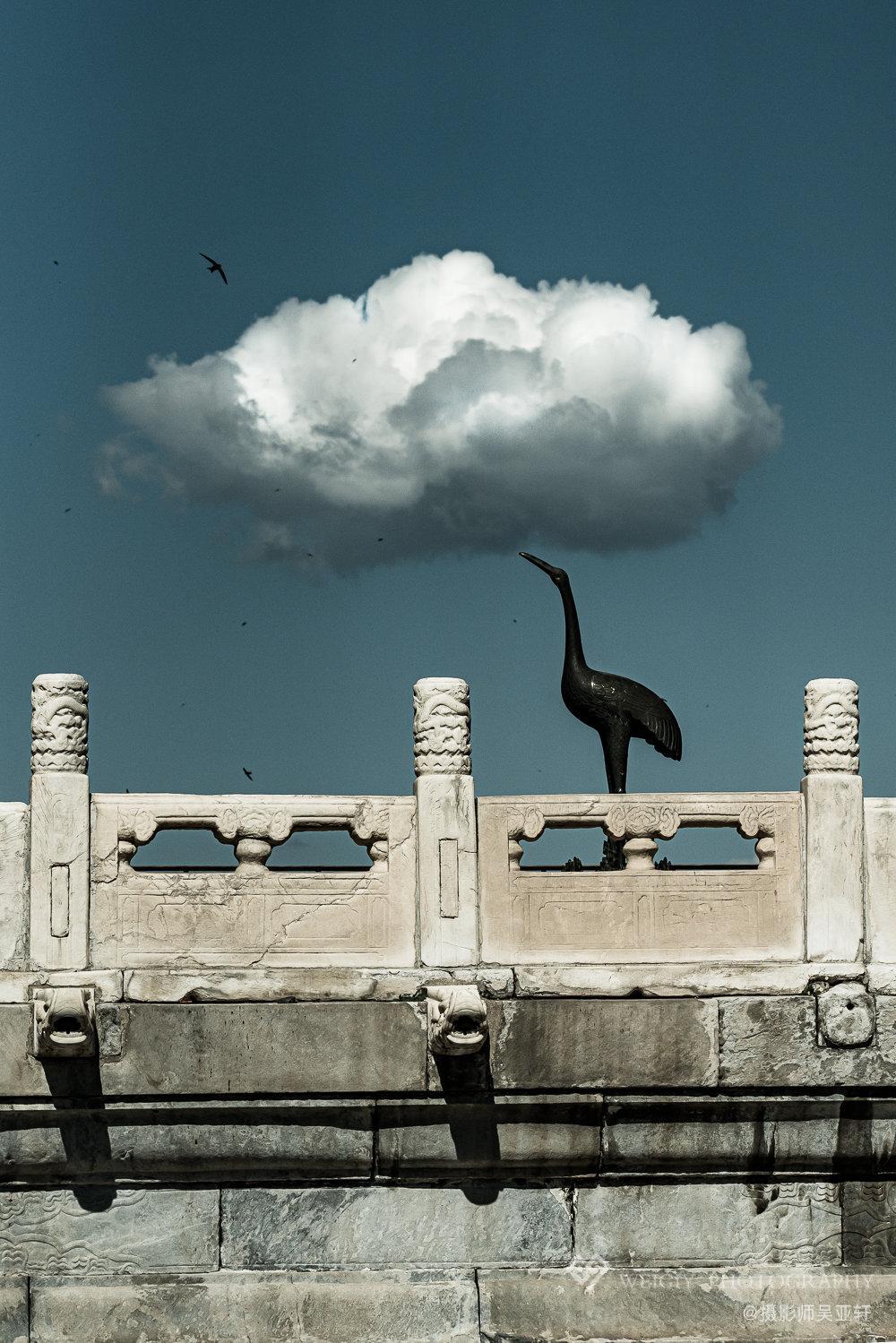 《衔云野鹤》——5.27 故宫