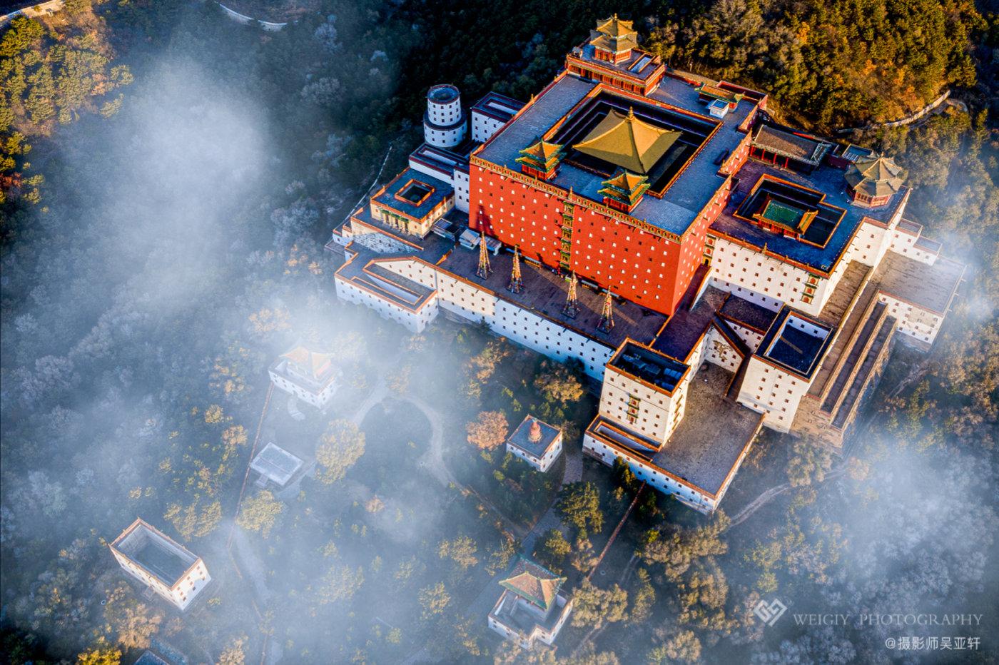 《雾漫圣殿》——10.22 河北普陀宗乘之庙