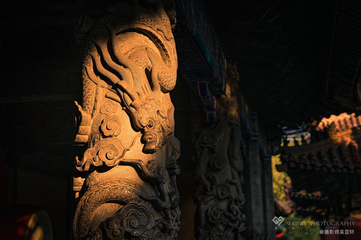 《夕照龙影》——11.20 山东曲阜孔庙