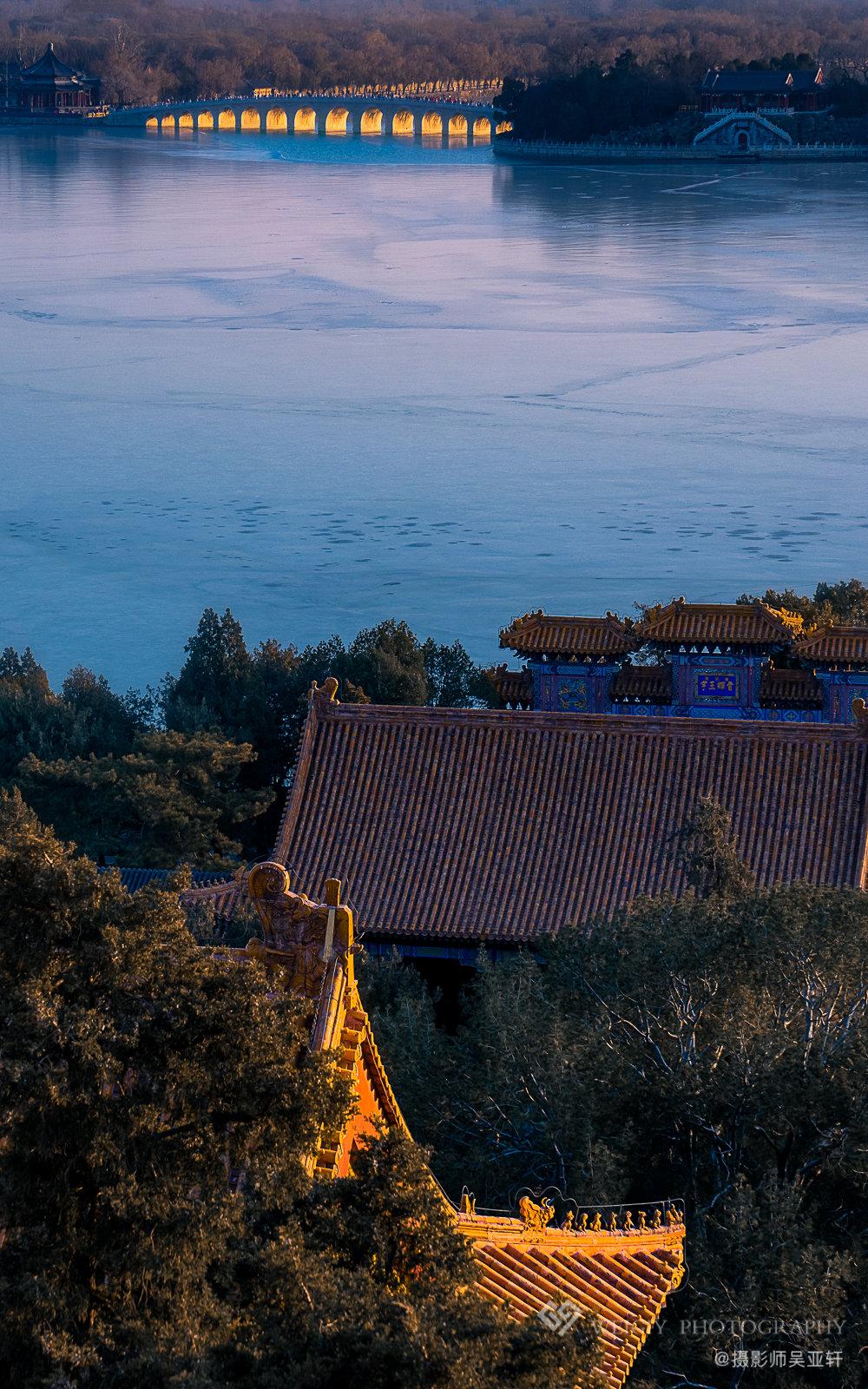 《遥望》——12.23 北京颐和园