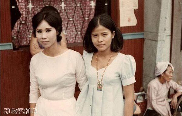 越南战争期间这些失足女专供美军使用