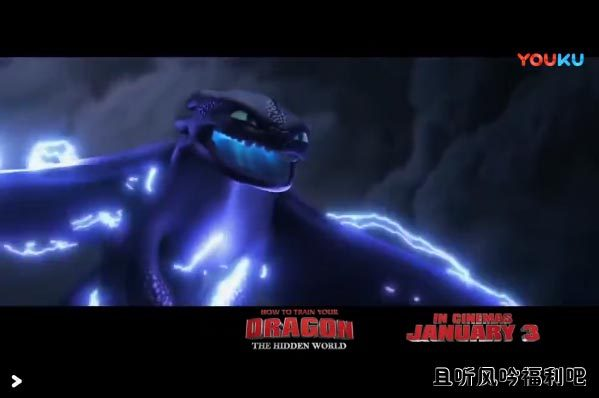 《驯龙高手3》全新预告大反派Grimme亮相无牙仔受伤