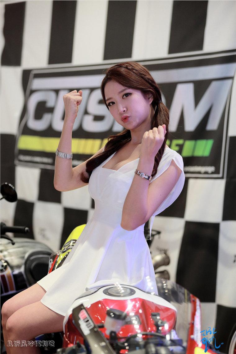 2016首尔国际摩托车展美女车模한세린