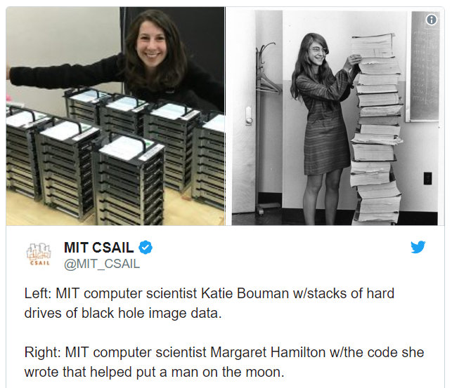 """网络暴力有多强大?看看""""洗出""""黑洞照片的MIT女博士就知道"""