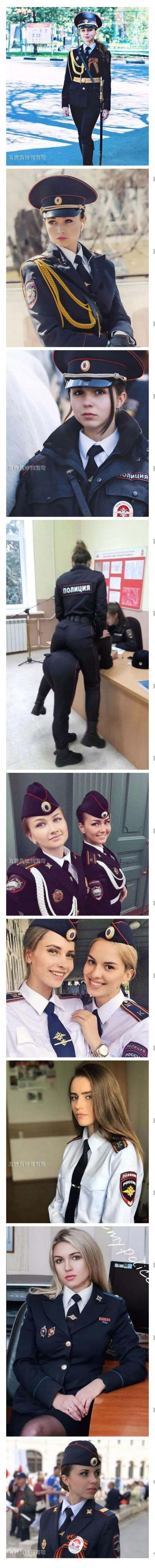 俄罗斯女警