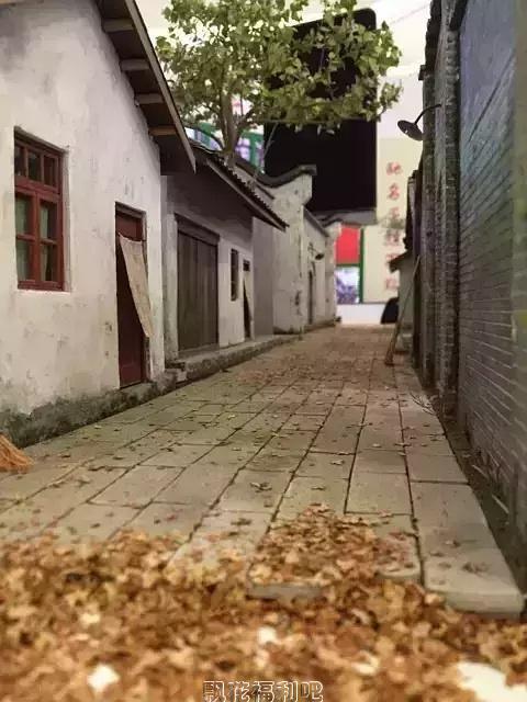 怀旧照片:童年就像是一条长长的老街巷子