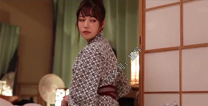 枫可怜(枫花恋)陪讨厌的上司吃饭后沉沉睡去