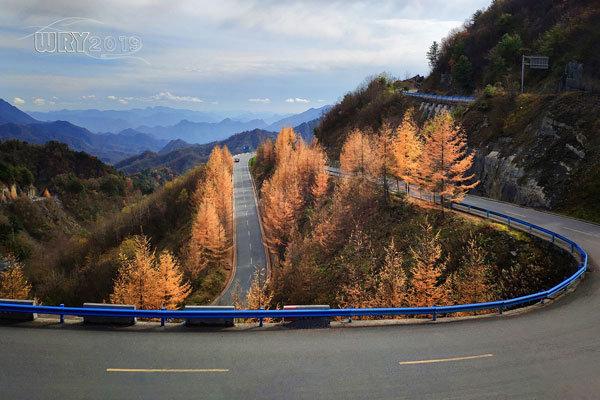 大巴山最后的秘境:镇坪化龙山·飞渡峡的迷人秋色
