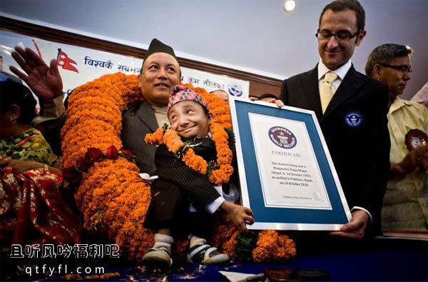 世界上最矮的人