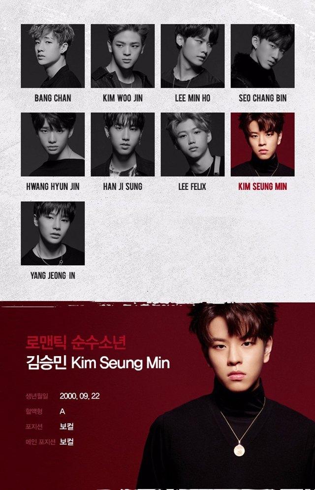 JYP新男团Stray Kids成员简介大公开,这介绍词是不是太肉麻夸张了!插图9