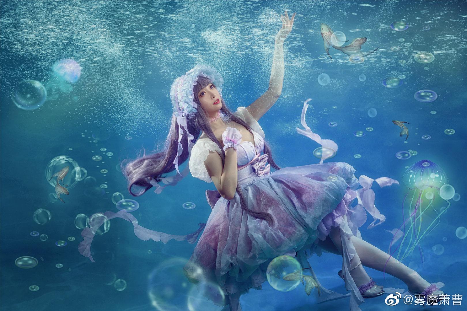 [COS]#魔卡少女樱# 大道寺知世 - 水之轮舞曲 COSPLAY-第11张