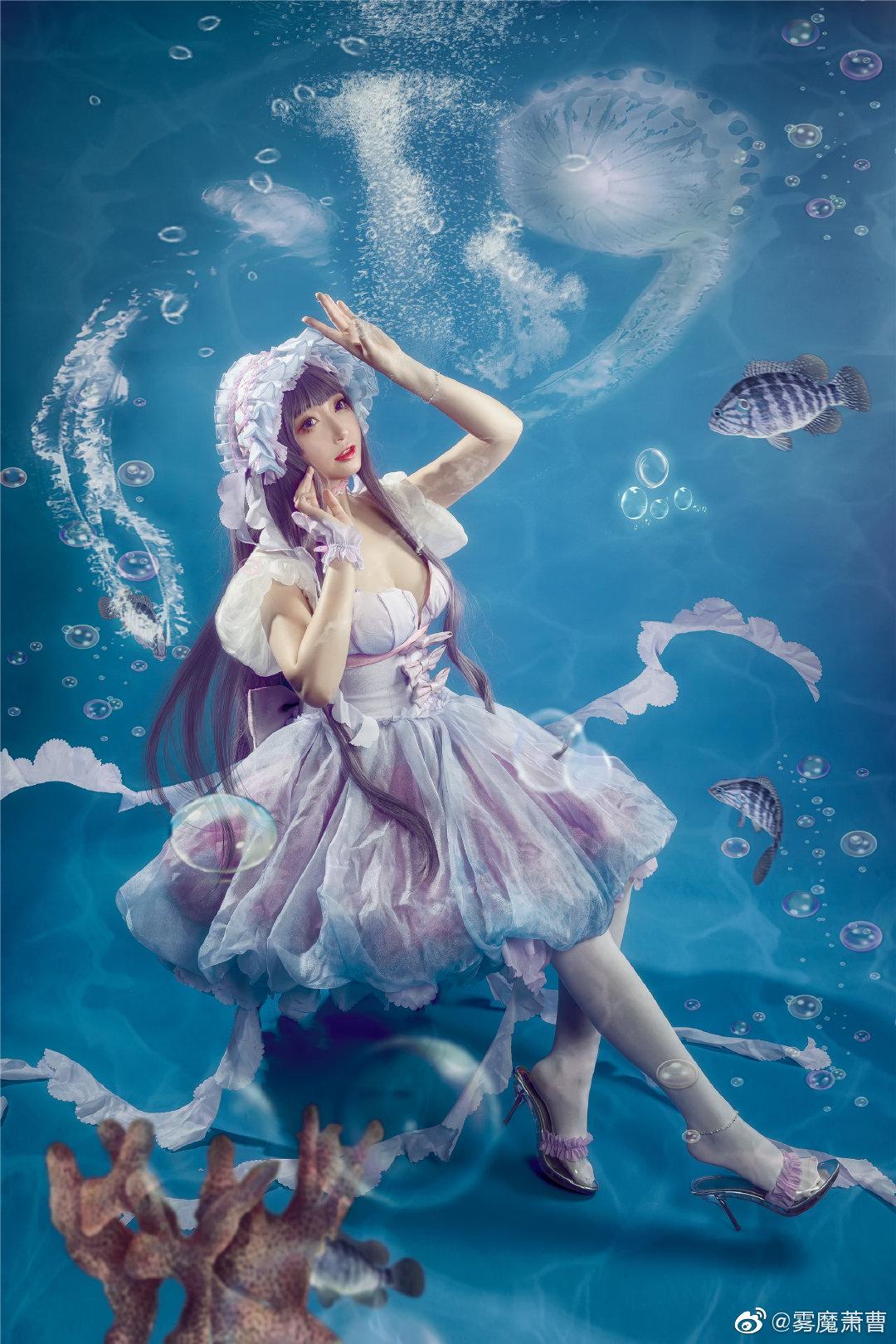 [COS]#魔卡少女樱# 大道寺知世 - 水之轮舞曲 COSPLAY-第10张