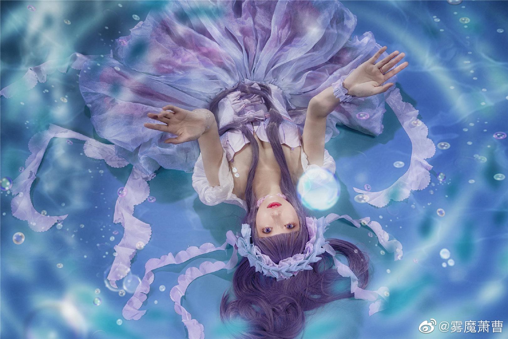 [COS]#魔卡少女樱# 大道寺知世 - 水之轮舞曲 COSPLAY-第8张