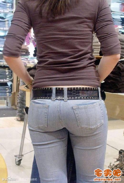 [另类福利]紧身裤系列 长腿翘臀 紧身牛仔裤 兰牛 图集[550P]