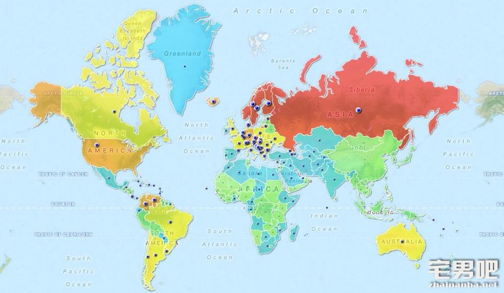 全球女性胸部大小排名