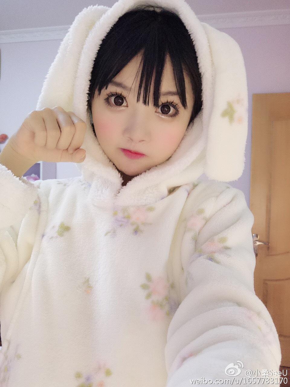 小柔SeeU[兔子][兔子][兔子][兔子]晒一下我_美女福利图片