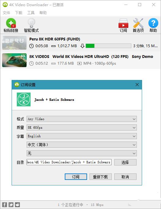 软件推荐[Windows]4K Video Downloader 4.16.5.4310 解锁版