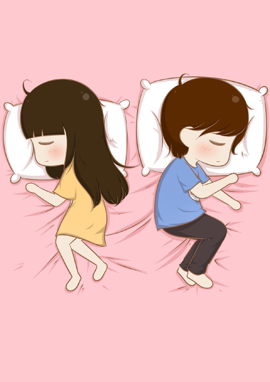 你们睡觉都是哪种姿势啊?