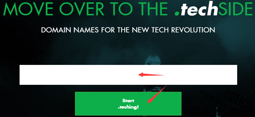 免费注册一年.tech顶级域名