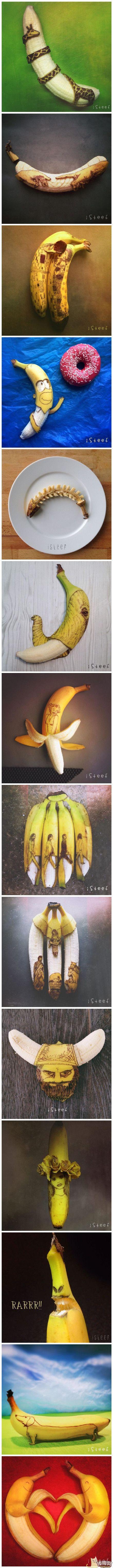 被玩坏的香蕉[10P]