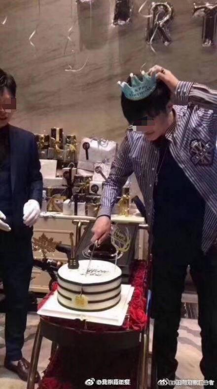 上海白马会所一个鸭过生日.28岁,好你出名了 嗨头条 第4张