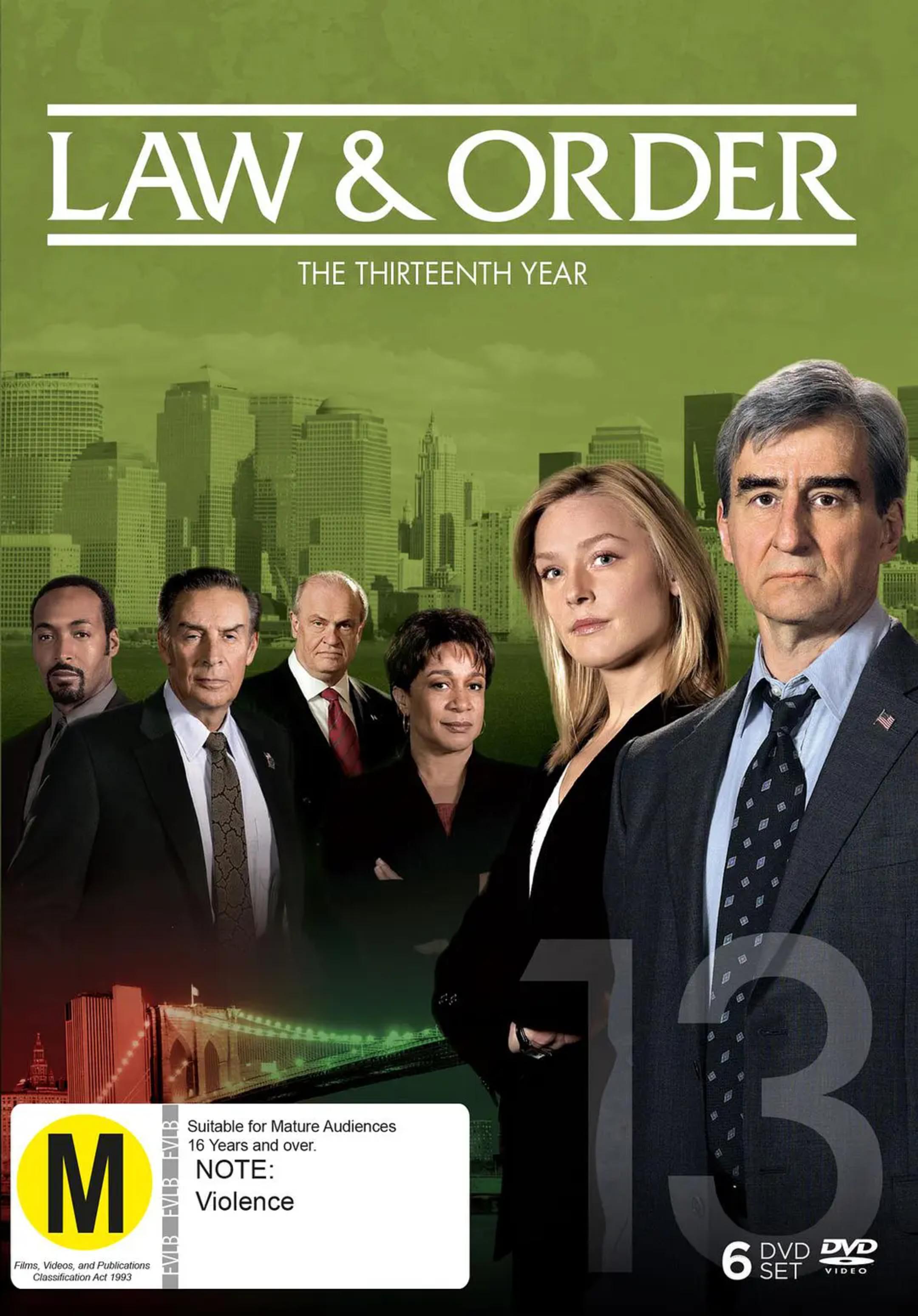 法律与秩序第十三季(欧美剧)
