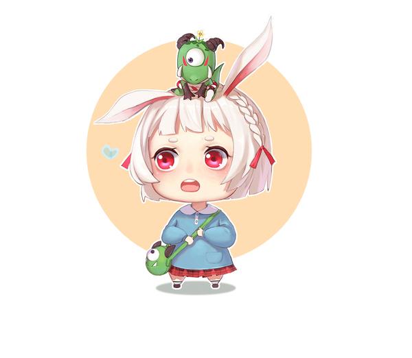 山兔与魔蛙的故事 漫画小篇 第1张