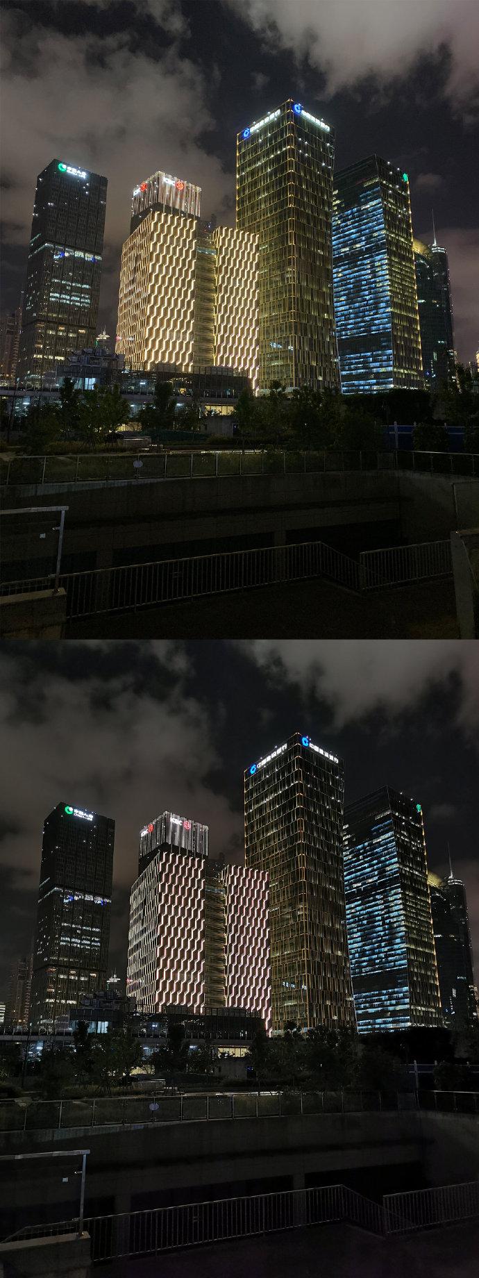 谁是夜拍之王?iPhone 11 Pro Max 和华为 P30 Pro成片对比 涨姿势 第6张