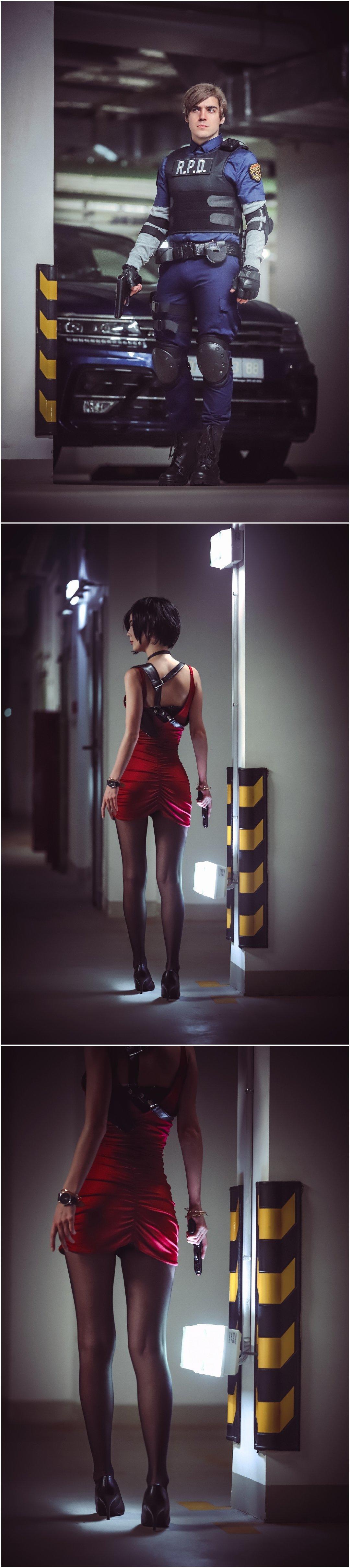 《生化危机2 》艾达王、里昂的出镜 男人文娱 热图2