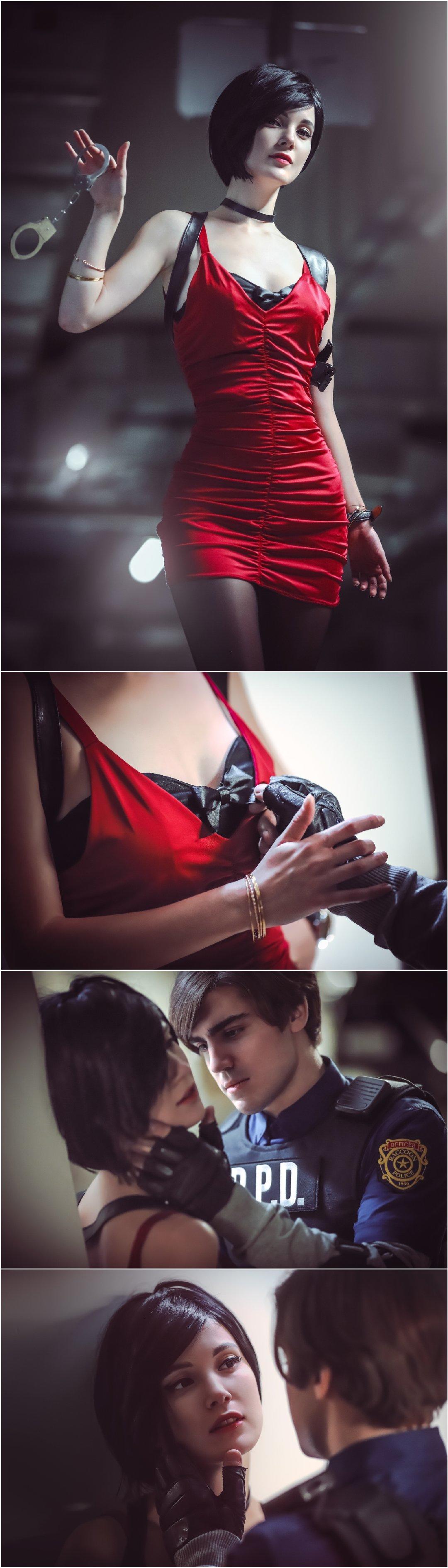 《生化危机2 》艾达王、里昂的出镜 男人文娱 热图7
