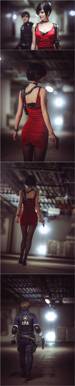 《生化危机2 》艾达王、里昂的出镜 男人文娱 热图9