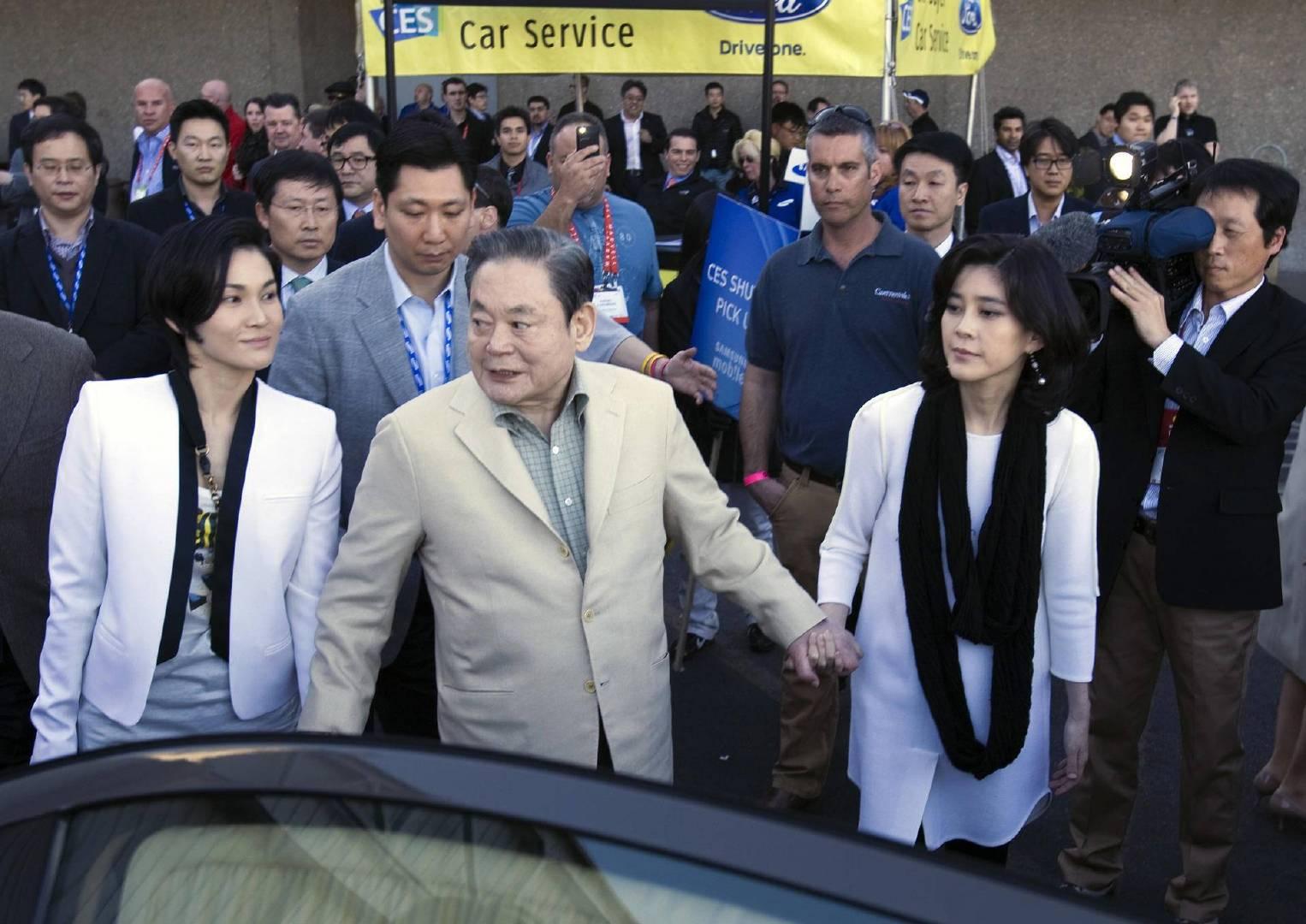 三星千金荣膺韩国女首富,嫁给保安频遭家暴,离婚后反赔8000万 涨姿势 第3张