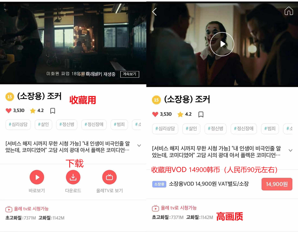 为什么国内流入的《小丑》资源出自韩版? liuliushe.net六六社 第7张